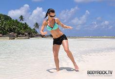 Beach Body Workout BODYROCK.tv | Fitness Advice, Workout Videos, Health & Fitness | Bodyrock.tv