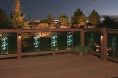 Deck Lighting Photo Gallery | DEKOR™ Canada | Quality Deck Lighting for Home and Cottage