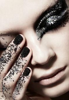 #tutorial #maquiagem #preta #black #make