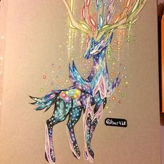 Galaxy Xerneas by bar428