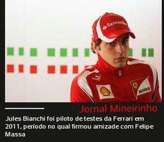 Acaba de ser confirmado! Morre aos 28 anos, Jules Bianchi piloto da F1 #Luto internado a 9 meses após acidente ! Está e a primeira morte após o trágico acidente de Airton Senna. Piloto que antes do acidente se declarou amigo de Felipe Massa.