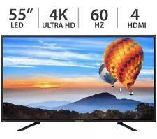 "Sceptre 55"" Inch 4K Ultra HD 2160p 60Hz LED LCD TV w/ 4 HDMI U550CV-U - NEW"