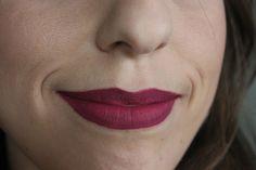 Testei: Batom líquido T.Blogs - cor Maria Antonieta