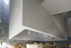 The New Church in Foligno, Italy by   Massimiliano & Doriana Fuksas  .