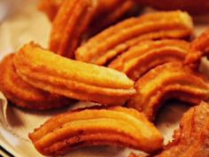 Churros de Petrona con chocolate por Viviana Lepes .. Narda Lepes