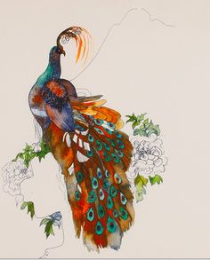Joni Mitchell Peacock - Top 10 Musicians Whose Artwork Doesn't Suck