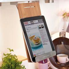 Porte-livre de cuisine et support pour tablette et iPad