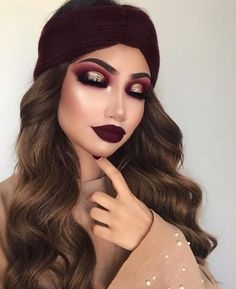 ✔ best sexy eyeshadow makeup inspiration ideas for prom and wedding 39 Glam Makeup, Gold Eye Makeup, Makeup For Brown Eyes, Cute Makeup, Gorgeous Makeup, Pretty Makeup, Makeup Inspo, Eyeshadow Makeup, Makeup Inspiration