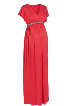 Blossom Maternity maxi dress saffron.... Maxi dresses are what I'm going to live in this summer during my pregnancy!! :)