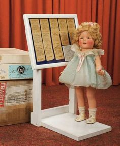 Curtain Call- The Collection of Billie Nelson: 467 All-Original American Composition Shirley Temple with Fascinating Provenance
