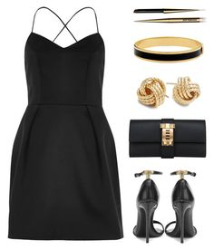"""""""Wardrobe Staples"""" by misshonee ❤ liked on Polyvore featuring River Island, Tom Ford, Hermès, Saks Fifth Avenue, Hourglass Cosmetics and Halcyon Days"""