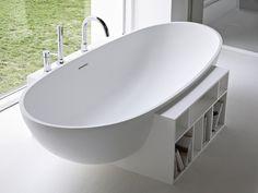 Kataloge zum Download und Preisliste für freistehende ovale badewanne aus korakril™ Egg, design Imago Design, kollektion Unico direkt vom Hersteller Rexa Design