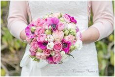 Brautstrauss pink rose weiss | Wedding Bouquet pink rose white | Corinna Vatter Fotografie