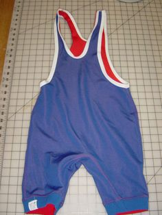 70s wrestling reversible uniform XS.