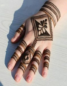 Just Browse here and check out the Latest Ideas of Simple Mehndi Designs to make your hand more beautiful and gorgeous in these days. Every young and celebrity girls can try out this styles on your next special occasion. Must try it and get the Amazing look on your hand.