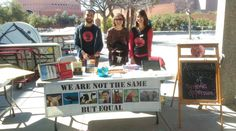 On Saturday, PALS tabled at ASU's Local to Global Justice event. It was a great venue to meet people interested in social justice issues. Thank you to those who volunteered their time, especially this adorable puppy Amy!
