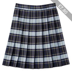 French Toast Girls School Uniform Plaid Skirt