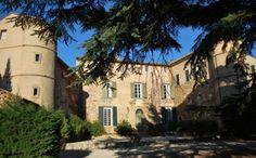 Castle in Aix, Cote d'Azur