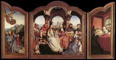 quentin massys paintings | Quentin Massys, Pala di S. Anna , 1507-08, Musées Royaux des Beaux ...