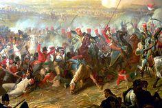 Risultati immagini per la battaglia di waterloo