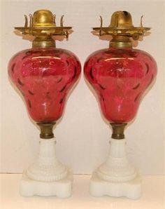 19th Century Cranberry Glass