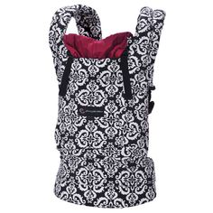 """Ergobaby Petunia Pickle Bottom """"Frolicking in Fez"""" - love the design on this baby carrier #registry"""
