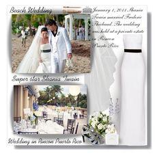 """Wedding Super Star - Beach Wedding!!!"" by sarahguo ❤ liked on Polyvore featuring Calvin Klein, Lorraine Schwartz, Antonio Berardi and Marc Jacobs"