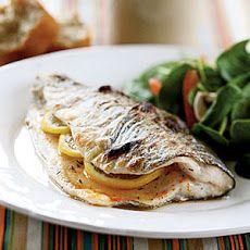 Trout Amandine V Recipe | Fish Recipes | Pinterest | Trout and Recipe