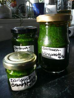 Bärlauch-Gewürzpaste, ein tolles Rezept aus der Kategorie Haltbarmachen. Bewertungen: 205. Durchschnitt: Ø 4,6.