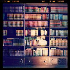 All those books...