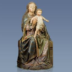 Vierge à l'Enfant, entourage des Guntersumer, vers 1500 Colmar