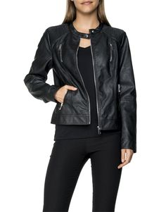 Food, Home, Clothing & General Merchandise available online! Mothers, Bomber Jacket, Dress Up, Leather Jacket, Clothing, Jackets, Food, Fashion, Studded Leather Jacket