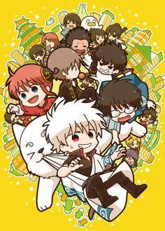 gitama~ All Anime, Me Me Me Anime, Anime Chibi, Gintama Wallpaper, Wallpaper Fofos, Anime Store, Pokemon, Okikagu, Manga Games
