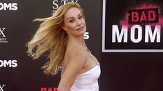 """Taylor Armstrong """"Bad Moms"""" Los Angeles Premiere Pink Carpet"""