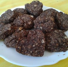 Ovseno-kokosové sušienky Agaves, Czech Recipes, Healthy Snacks, Sweet Tooth, Clean Eating, Beef, Chocolate, Fitness, Desserts