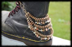 """Boot Chain - Diva Divine  Maybe This could cover the """"Toms"""" logo on Beth's fairy boots @Beth Burchfield"""