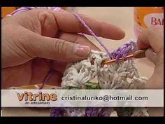 Tapete Jardim em Barbante - Cristina Luriko - Vitrine do Artesanato na TV