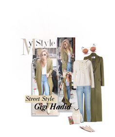 """""""Street Style - Gigi Hadid"""" by ivyargmagno ❤ liked on Polyvore featuring Tom Ford, Zimmermann, Sandro, Gucci, NSF, GetTheLook, StreetStyle, celebstyle, modelstyle and gigihadid"""