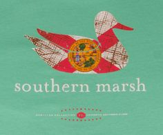 Our most popular shirt featuring the Southern Marsh mallard silhouette logo on the back and our authenticlogo on the front...medium and green please.