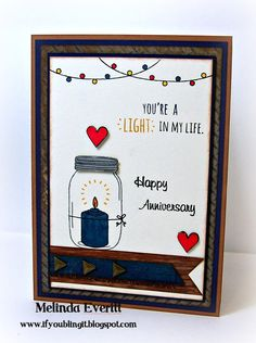 If You Bling It: Welcome to the December Stamp of the Month Blog Hop - Candlelight Garden