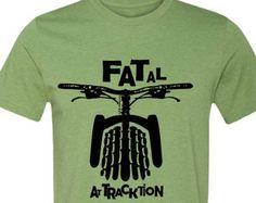 Grasa bicicleta bicicleta T-Shirt T  Shirt Heather por SpokeNwheelz