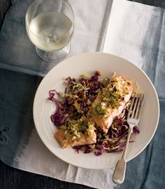 Upper Crust on Pinterest | Salmon, Crusted salmon and Couscous