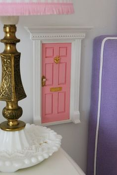 Cutest tooth fairy door!