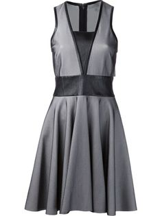 ROBERT RODRIGUEZ - sleeveless mesh dress 6