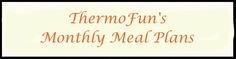 THERMOMIX FREE MEAL PLANS