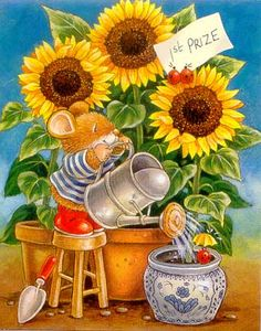 Sunflowers ~ Country Companions