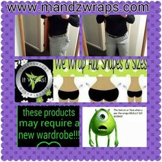 Love that my Jeans fit and no muffin top for me.  www.mandzwraps.com and LIKE Mandzwraps on Facebook