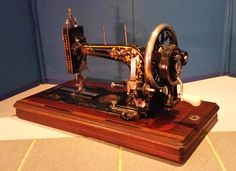 Early Viking Freja Hand Crank Sewing Machine Fresh off the Restoration Bench at Stagecoach Road Vintage Sewing Machine