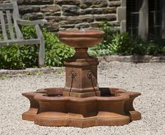 The Beauvais Fountain is grand in design, but small enough to bring home.