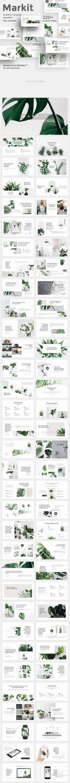 Markit Minimal Keynote Template - Keynote Creative Presentation Template by Template Web, Slide Template, Keynote Template, Presentation Slides, Presentation Design, Presentation Templates, Slide Design, Web Design, Graphic Design